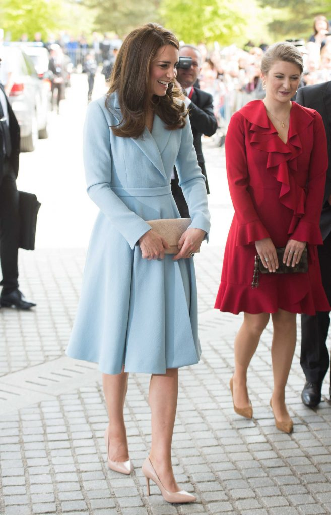 Kate Middleton Leaves the City Museum in Luxembourg-3
