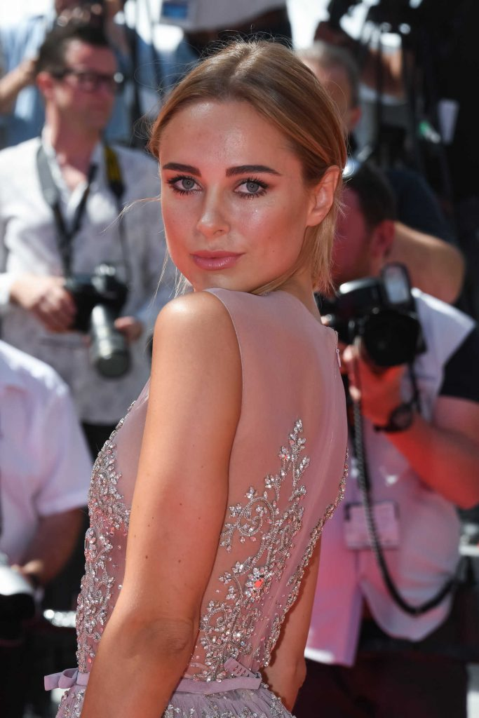 Kimberley Garner at the How to Talk to Girls at Parties Premiere During the 70th Annual Cannes Film Festival-4
