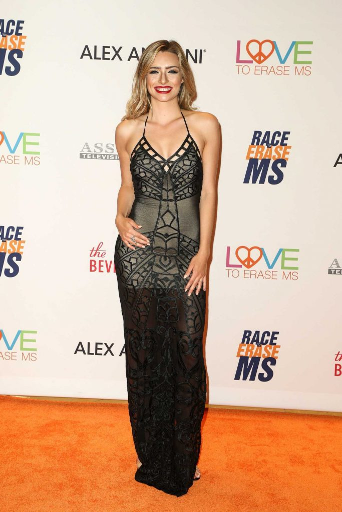 Kirsten Collins at the Race to Erase MS Gala in Beverly Hills-1