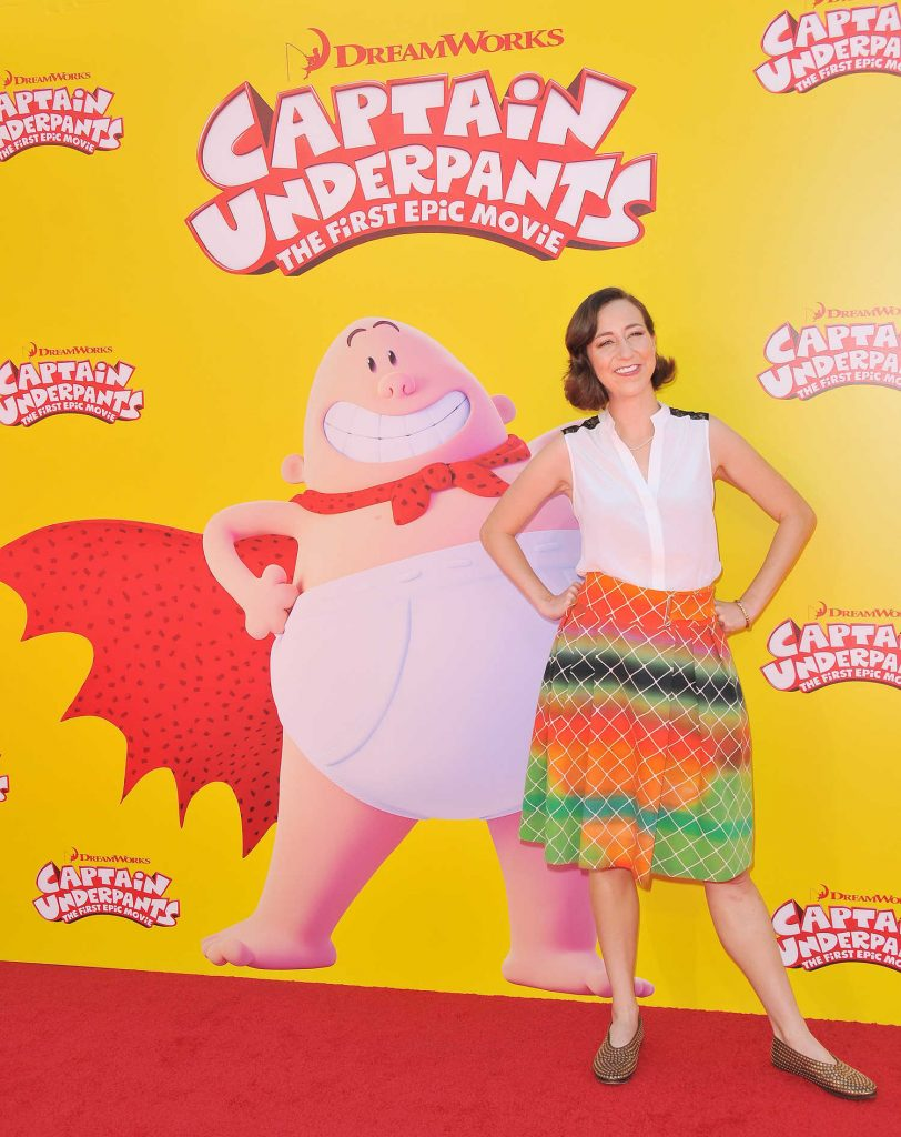 Kristen Schaal at the Captain Underpants Premiere in Los Angeles-2