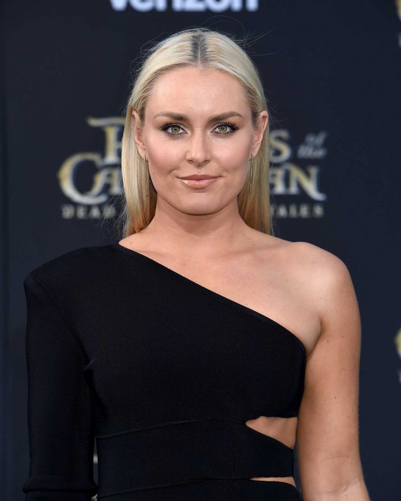 Lindsey Vonn At The Pirates Of The Caribbean Dead Men