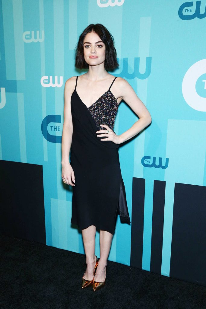 Lucy Hale at the CW Network's 2017 Upfront at the London Hotel in New York City-1