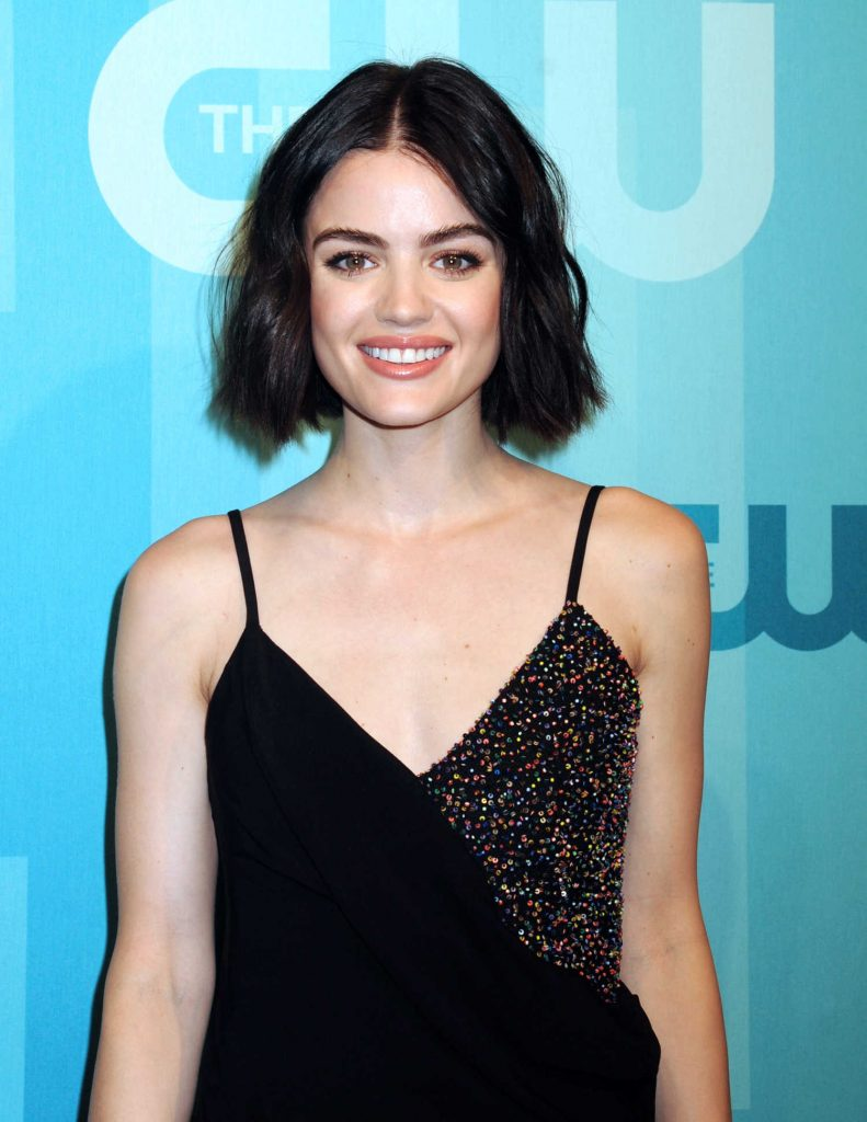Lucy Hale at the CW Network's 2017 Upfront at the London Hotel in New York City-5
