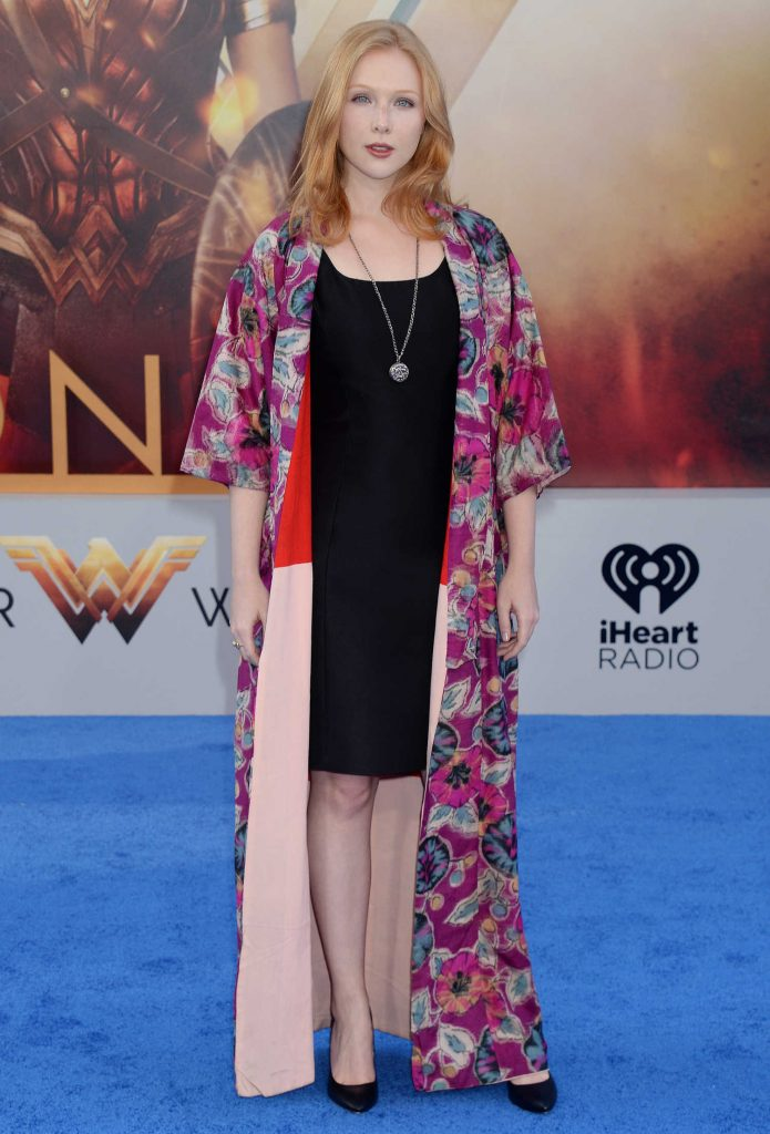 Molly Quinn at the Wonder Woman Premiere in Los Angeles-1