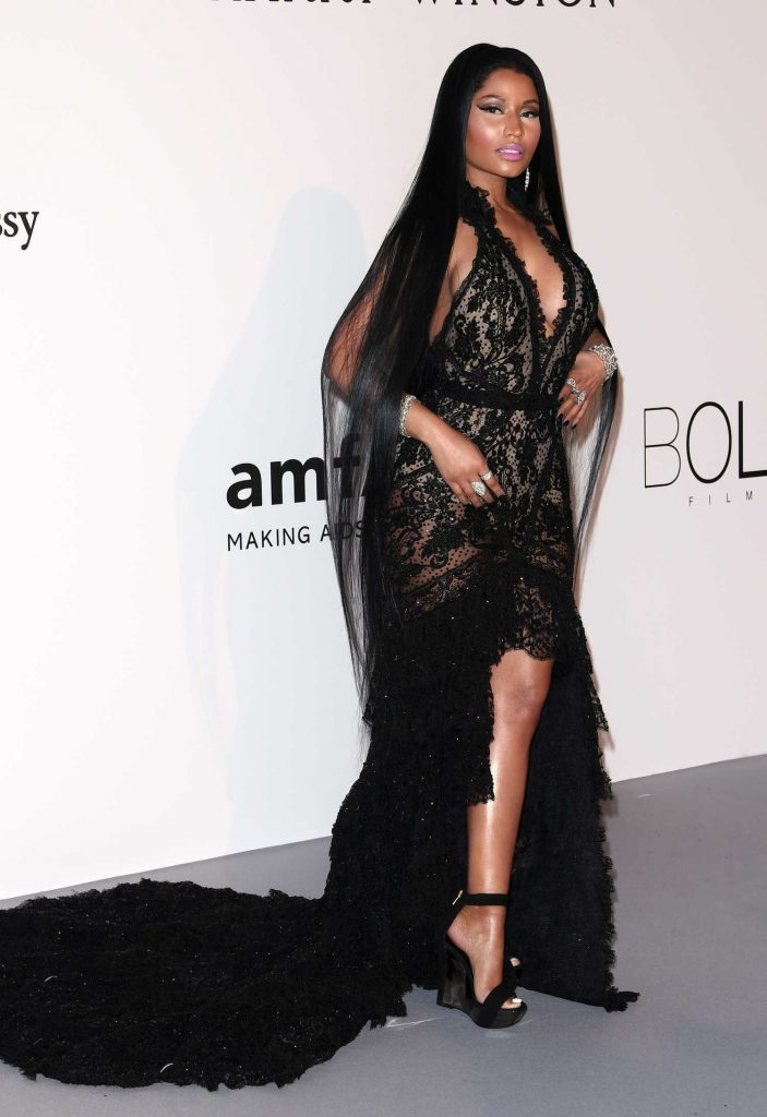 Nicki Minaj at amfAR's 24th Cinema Against AIDS Gala During the 70th Cannes Film Festival-1