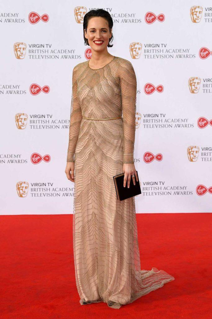 Phoebe Waller-Bridge at the 2017 British Academy Television Awards in London-1