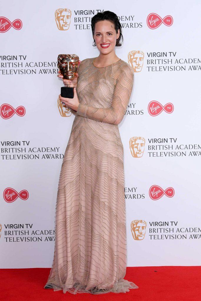 Phoebe Waller-Bridge at the 2017 British Academy Television Awards in London-2