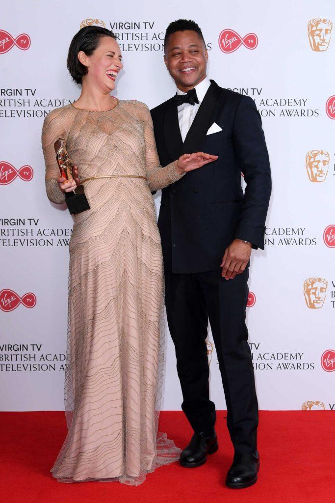 Phoebe Waller-Bridge at the 2017 British Academy Television Awards in London-4