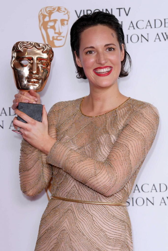 Phoebe Waller-Bridge at the 2017 British Academy Television Awards in London-5