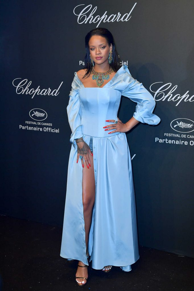 Rihanna at the Chopard Space Party During the 70th Annual Cannes Film Festival-1