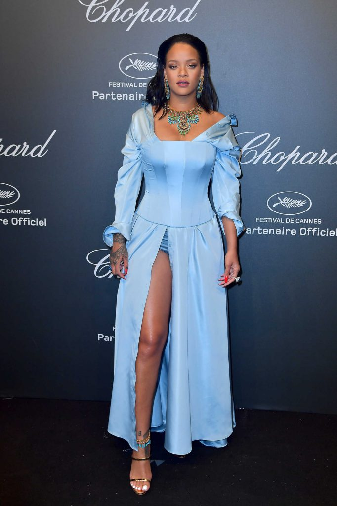Rihanna at the Chopard Space Party During the 70th Annual Cannes Film Festival-2