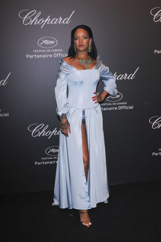 Rihanna at the Chopard Space Party During the 70th Annual Cannes Film Festival-3
