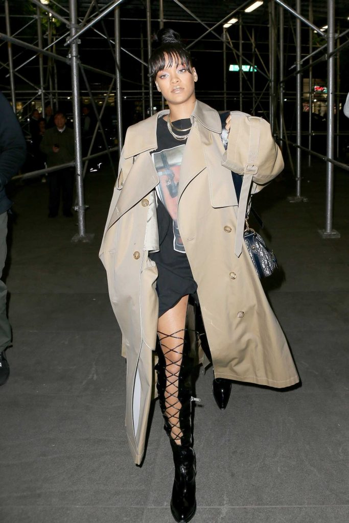Rihanna Night Out in New York-3