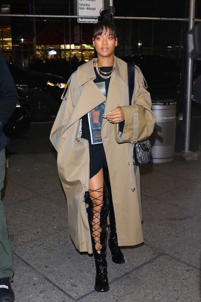 Rihanna Night Out in New York-4