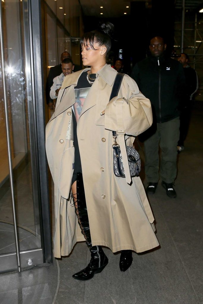 Rihanna Night Out in New York-5