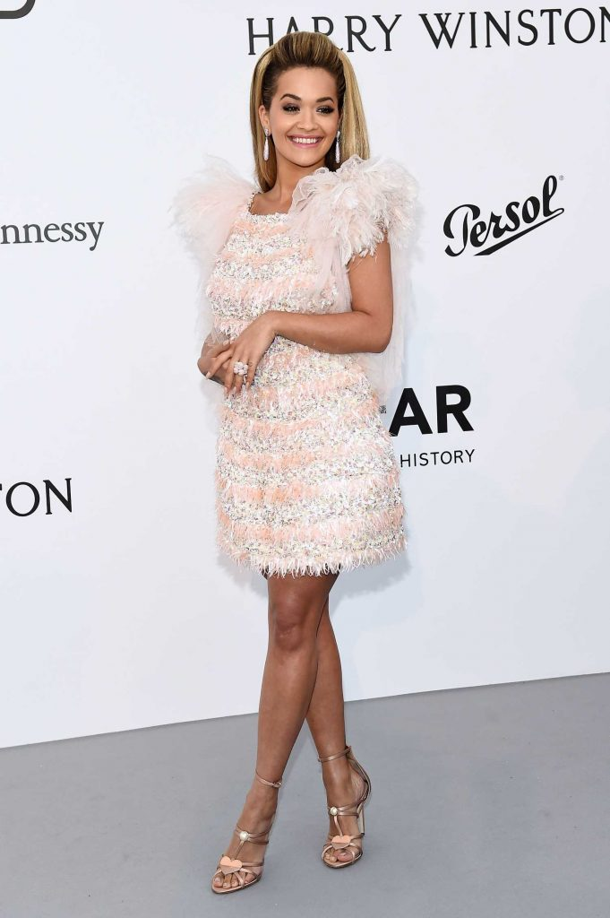 Rita Ora at amfAR's 24th Cinema Against AIDS Gala During the 70th Cannes Film Festival-1
