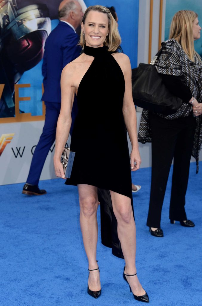 Robin Wright at the Wonder Woman Premiere in Los Angeles-1