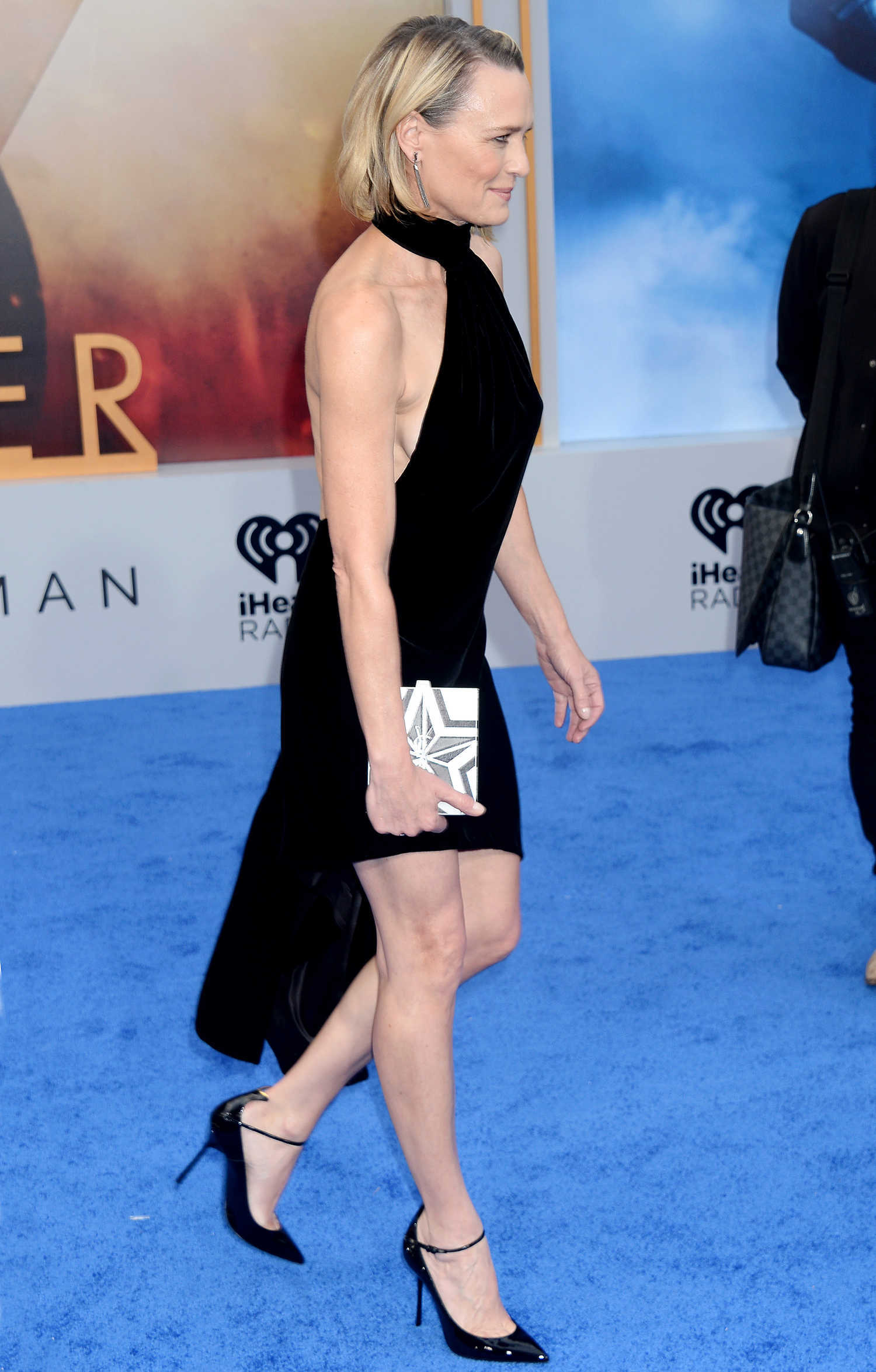 Robin Wright at the Wonder Woman Premiere in Los Angeles ...