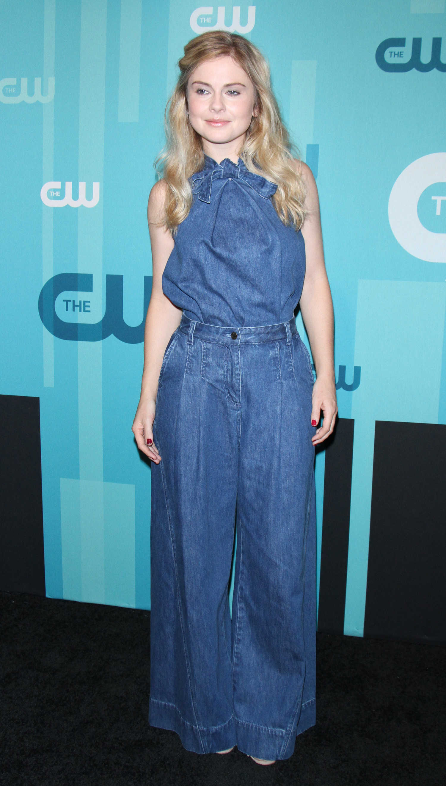 ROSE MCIVER at CW Upfronts Presentation in New York