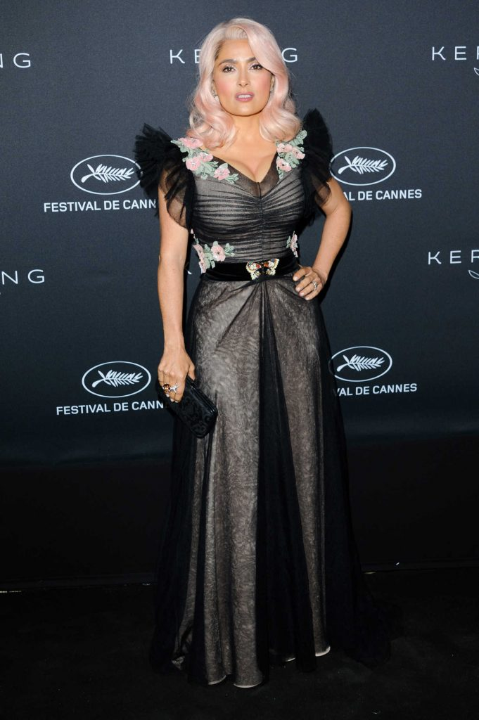 Salma Hayek at the Kering Women in Motion Awards During the 70th Cannes Film Festival-1