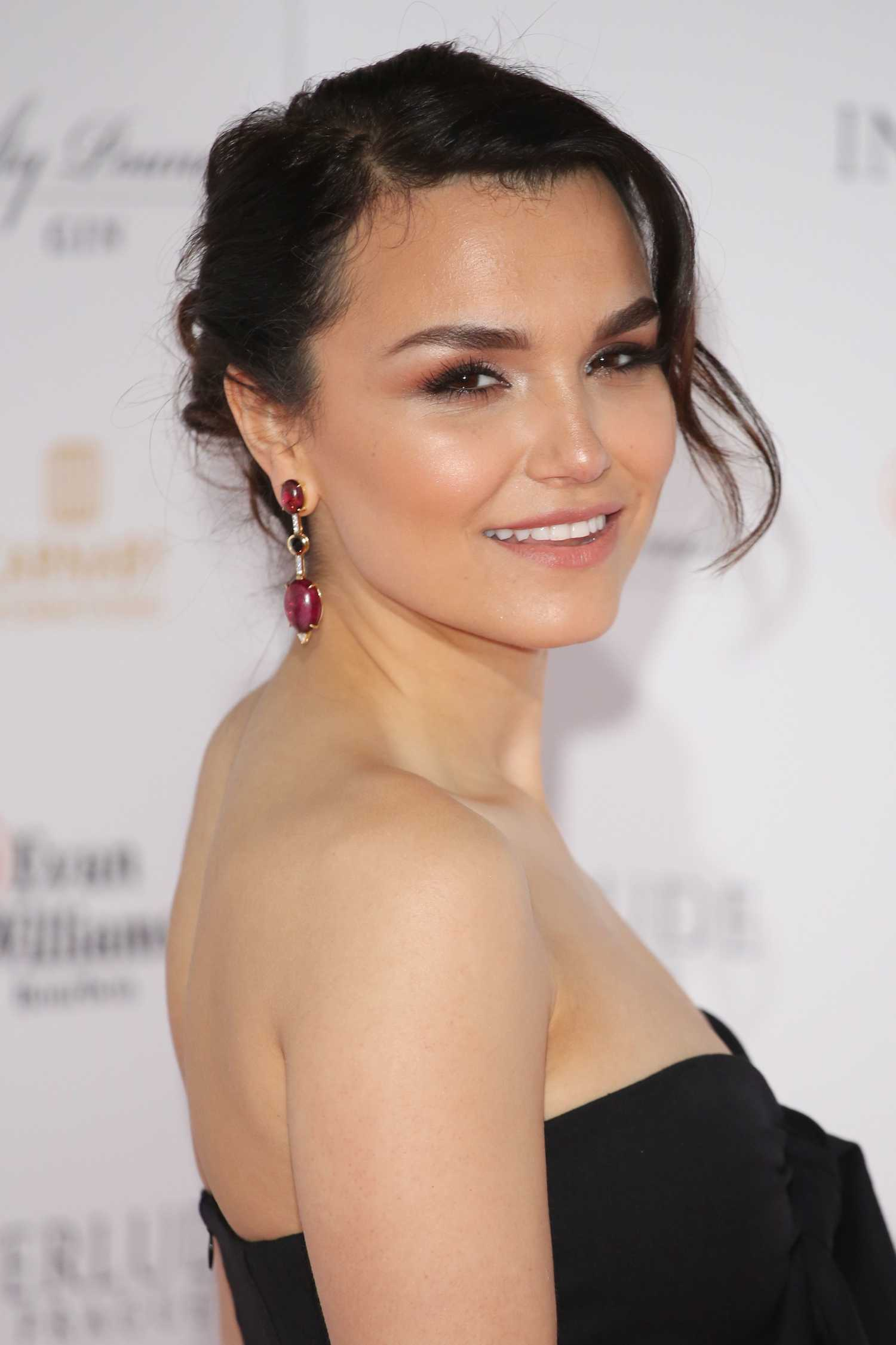 Samantha Barks at Interlude in Prague Premiere in London ...