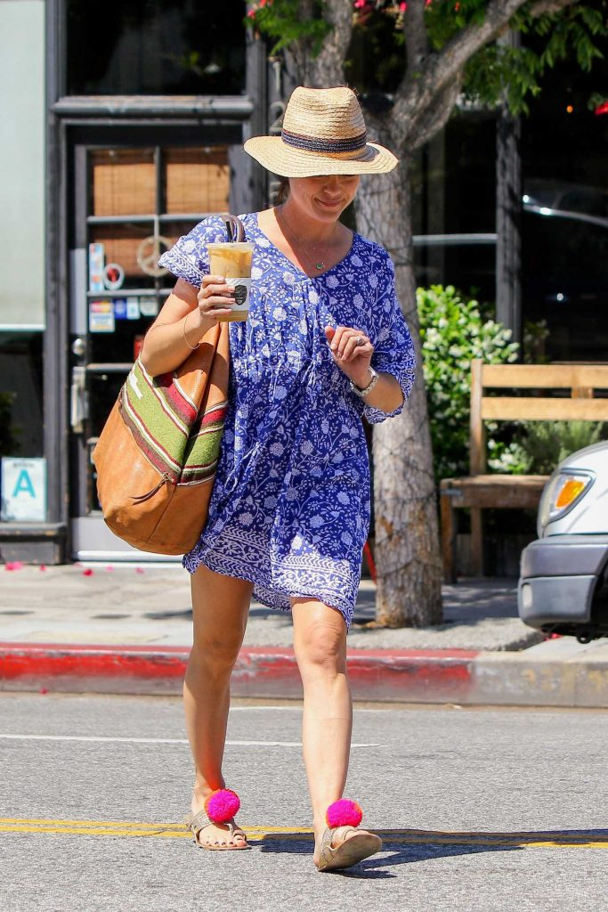 Selma Blair Was Seen Out in Studio City-2