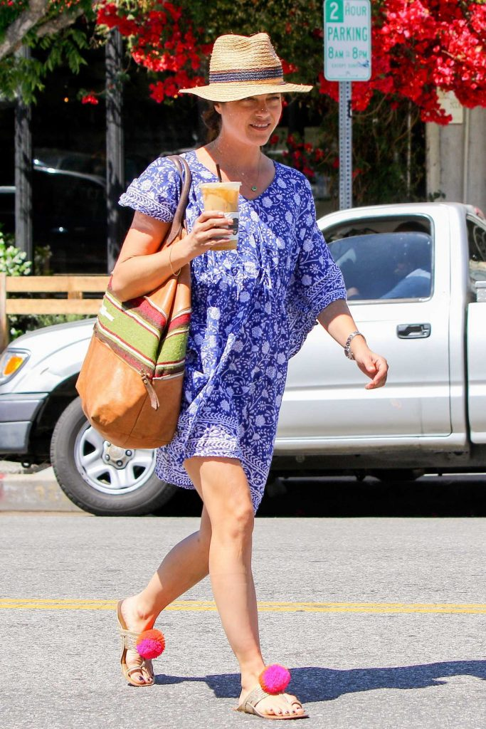 Selma Blair Was Seen Out in Studio City-4