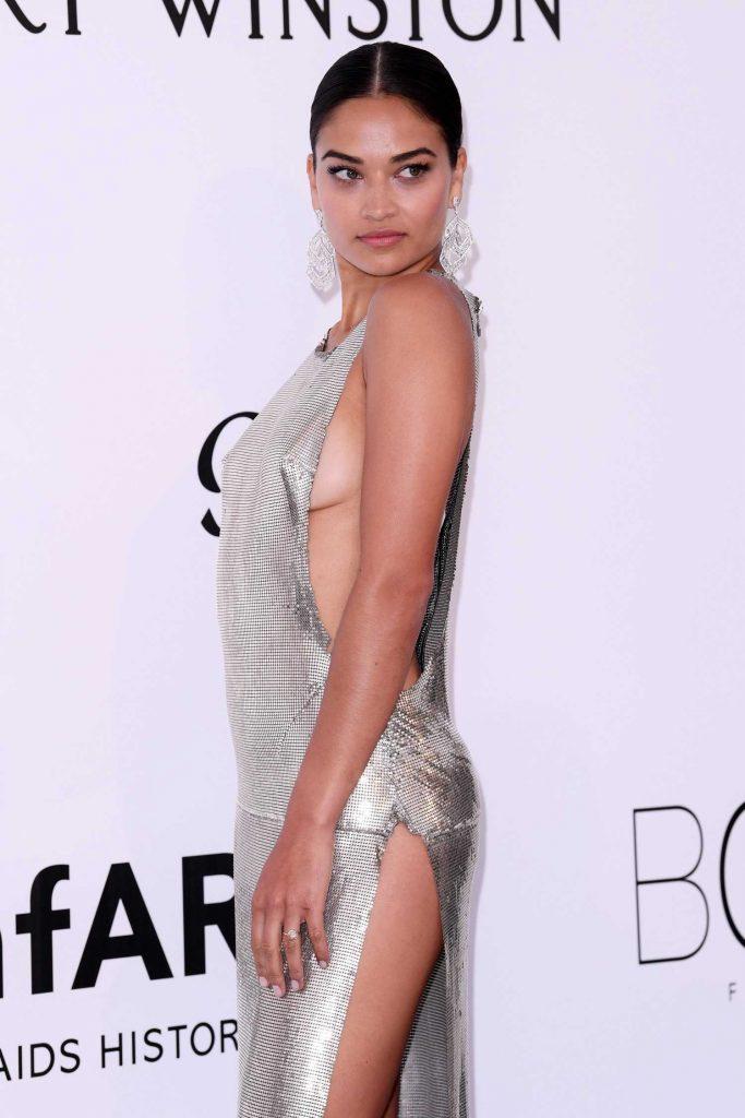 Shanina Shaik at amfAR's 24th Cinema Against AIDS Gala During the 70th Cannes Film Festival-5