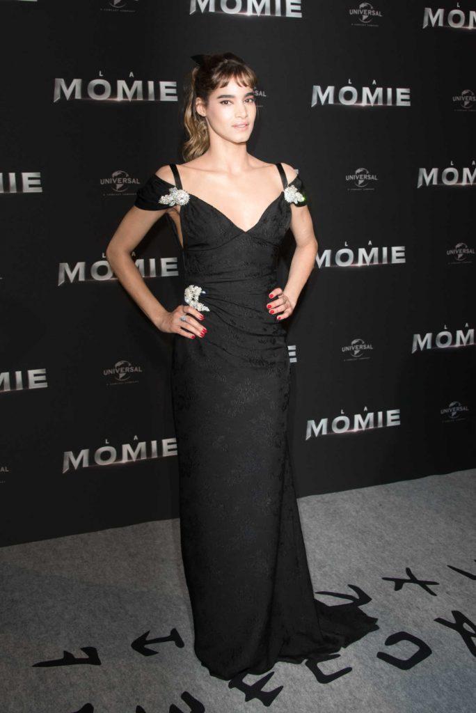 Sofia Boutella at The Mummy Premiere in Paris-1