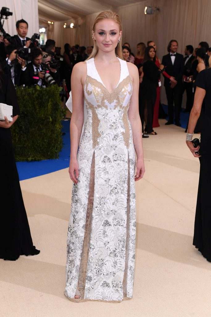Sophie Turner at the 2017 Met Gala at The Metropolitan Museum of Art in New York-2