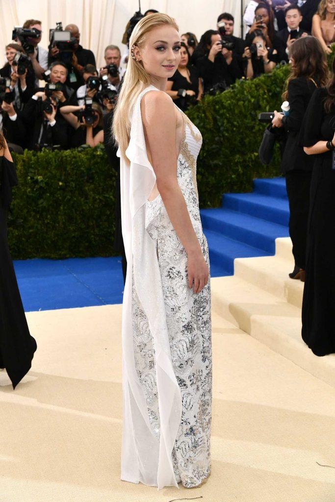 Sophie Turner at the 2017 Met Gala at The Metropolitan Museum of Art in New York-3