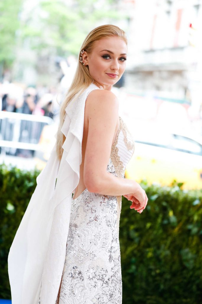 Sophie Turner at the 2017 Met Gala at The Metropolitan Museum of Art in New York-5