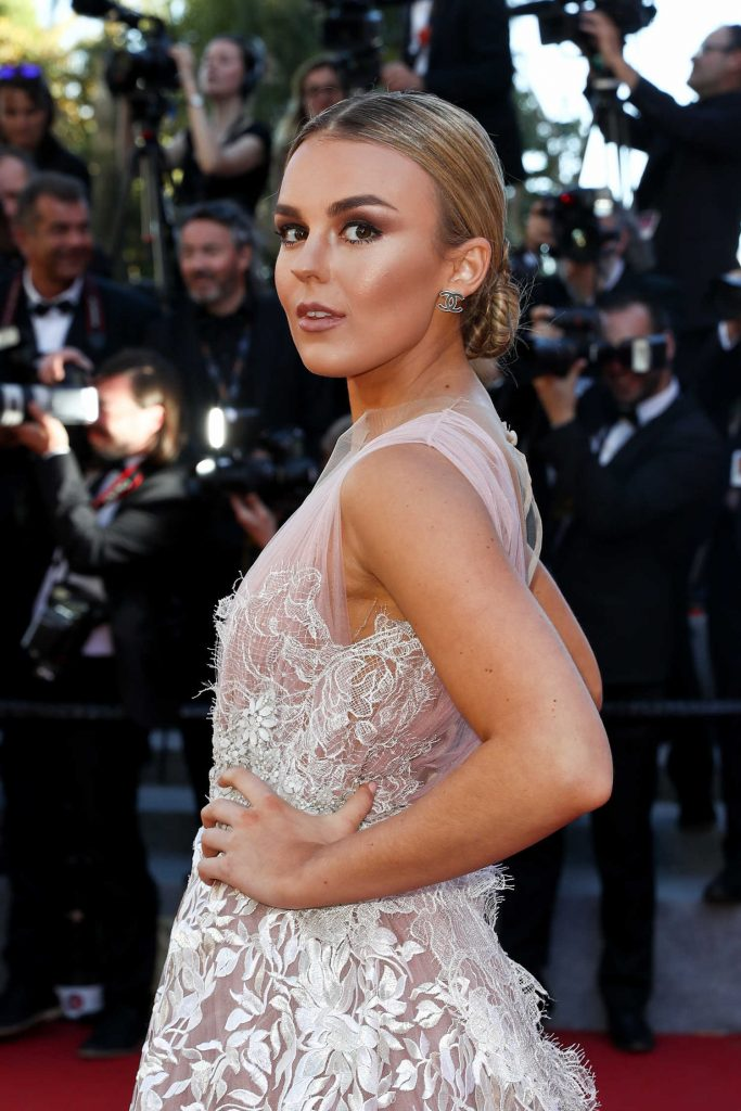 Tallia Storm at Okja Premiere During the 70th Cannes Film Festival-4