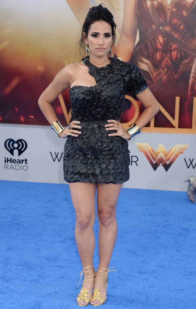 Tiffany Smith at the Wonder Woman Premiere in Los Angeles-1