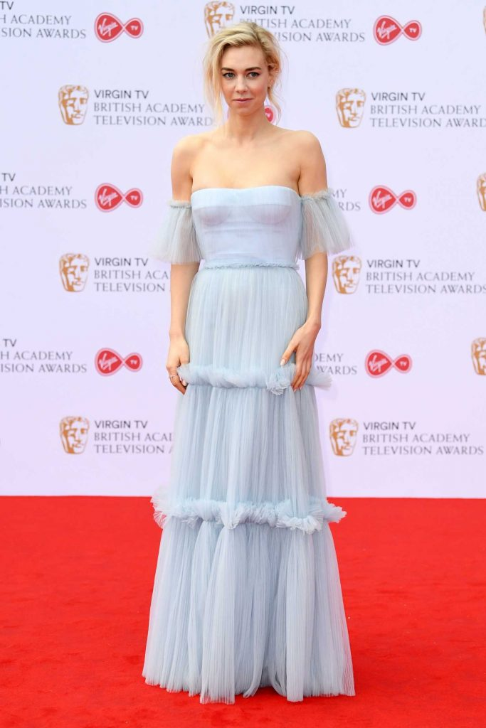Vanessa Kirby at the 2017 British Academy Television Awards in London-1