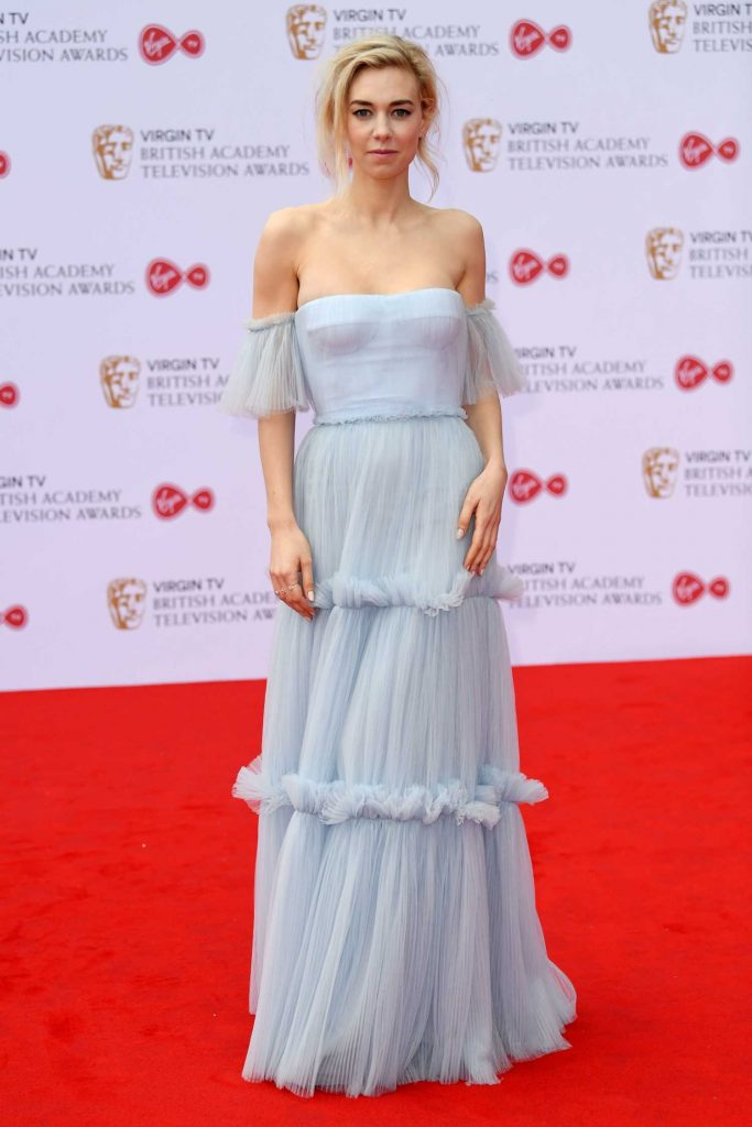 Vanessa Kirby at the 2017 British Academy Television Awards in London-2