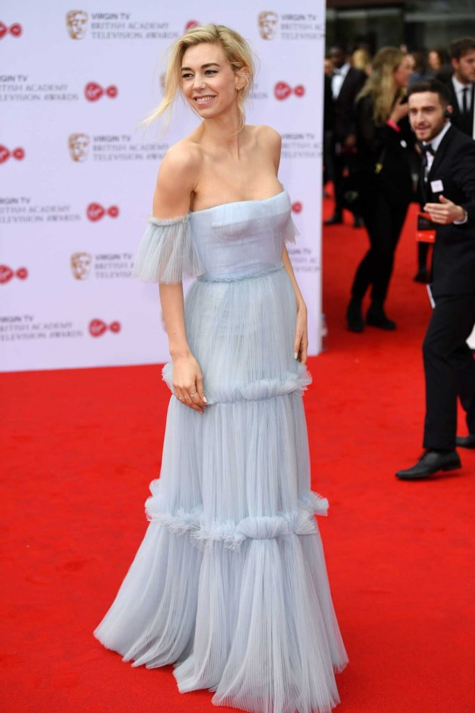 Vanessa Kirby at the 2017 British Academy Television Awards in London-3