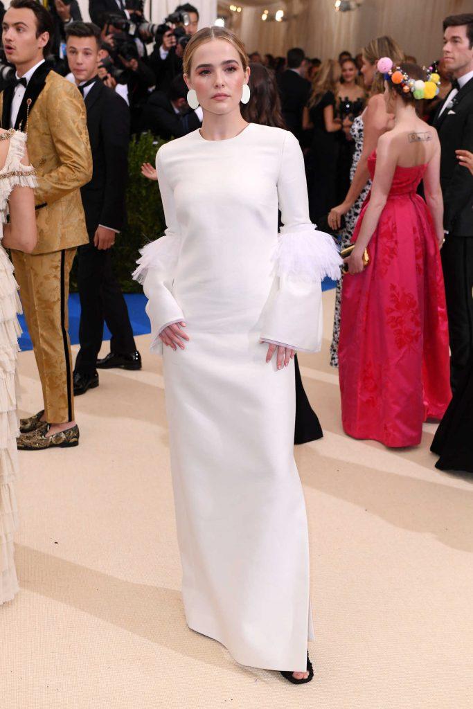 Zoey Deutch at the 2017 Met Gala at The Metropolitan Museum of Art in New York-4