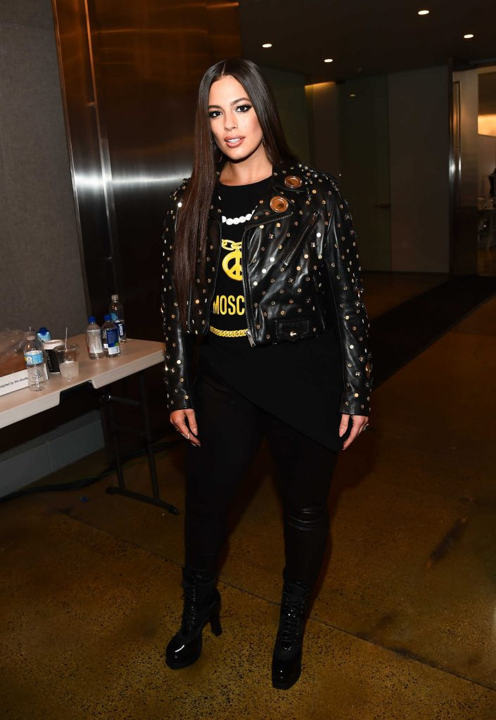 Ashley Graham at the Moschino 2018 Menswear and Women's Resort Collection Presentation in Los Angeles-4