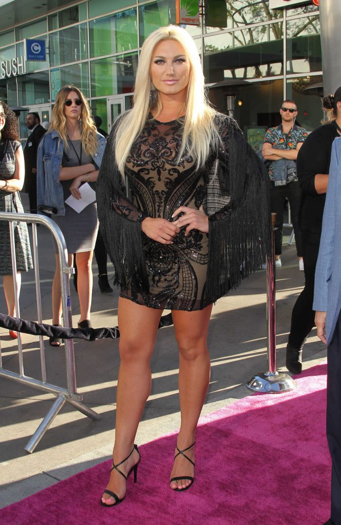 Brooke Hogan at the GLOW TV Show Premiere in Los Angeles-1