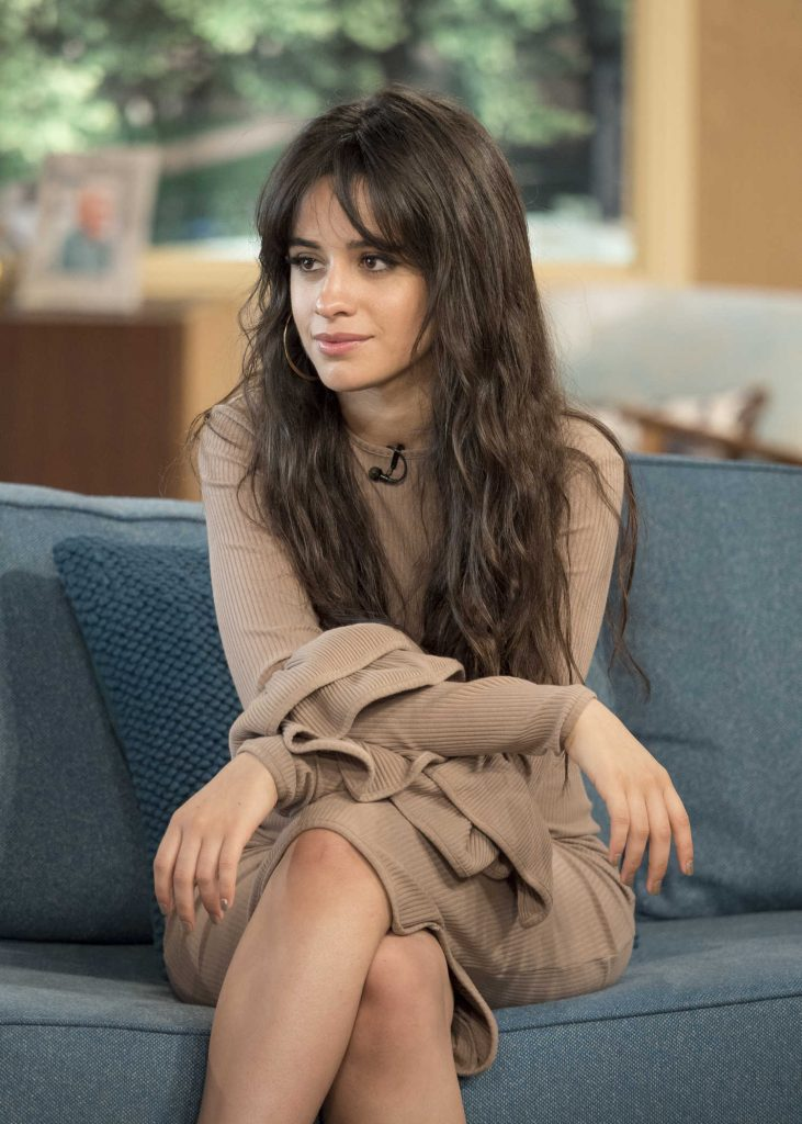 Camila Cabello on This Morning TV Show in London-4