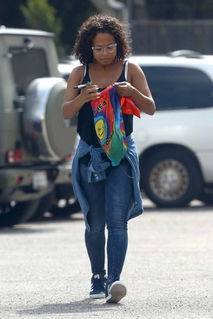 Christina Milian Was Seen Out in West Hollywood-4
