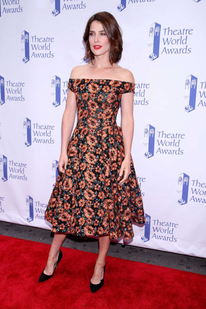 Cobie Smulders at the Theatre World Awards in New York-1