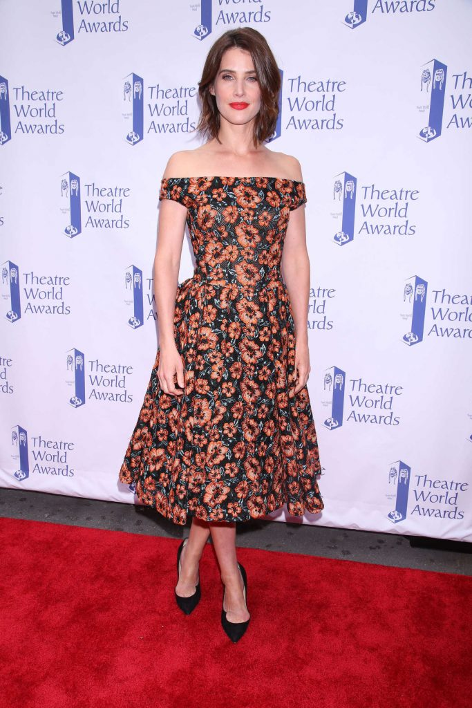 Cobie Smulders at the Theatre World Awards in New York-2