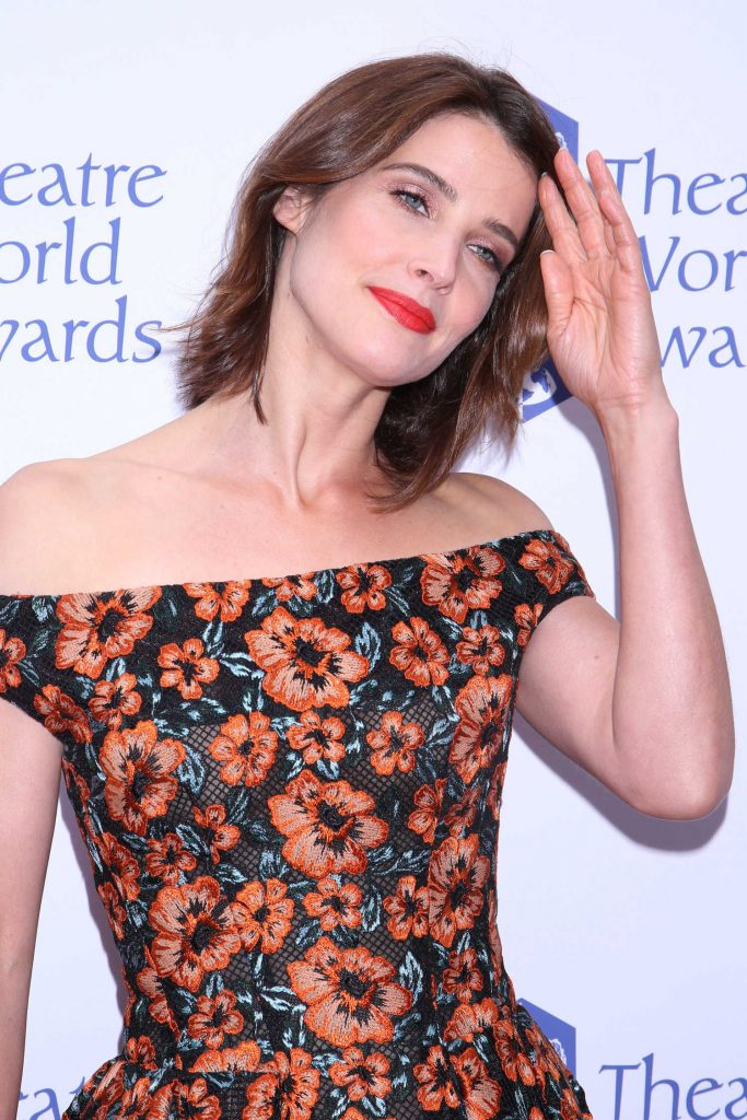 Cobie Smulders at the Theatre World Awards in New York-4