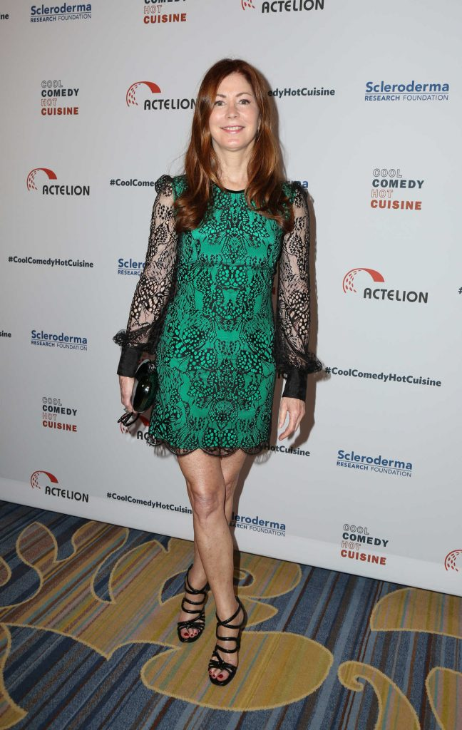 Dana Delany at the Bob Saget's Cool Comedy, Hot Cuisine Fundraiser in Beverly Hills-1