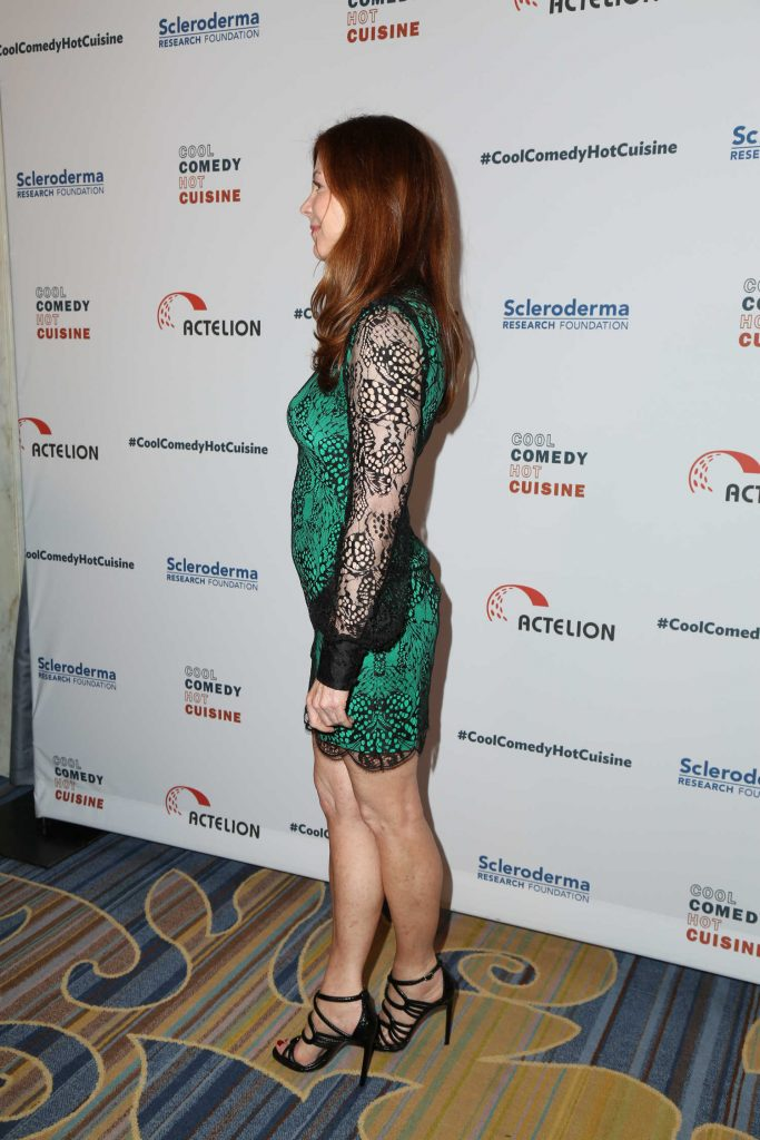 Dana Delany at the Bob Saget's Cool Comedy, Hot Cuisine Fundraiser in Beverly Hills-2