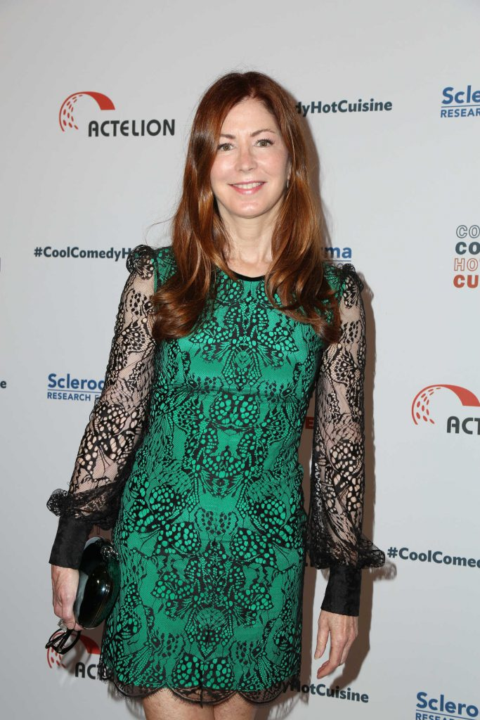 Dana Delany at the Bob Saget's Cool Comedy, Hot Cuisine Fundraiser in Beverly Hills-3