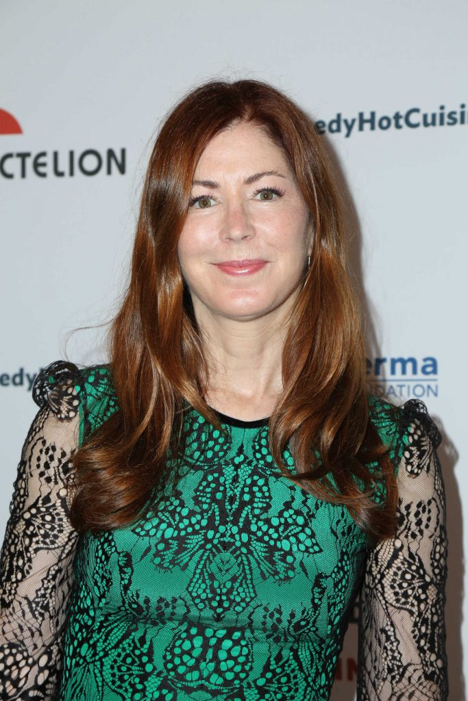 Dana Delany at the Bob Saget's Cool Comedy, Hot Cuisine Fundraiser in Beverly Hills-5