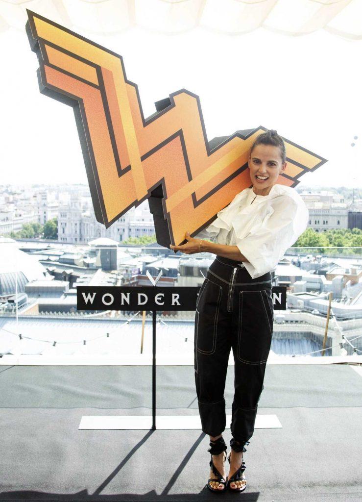 Elena Anaya at the Wonder Woman Photocall in Madrid-3